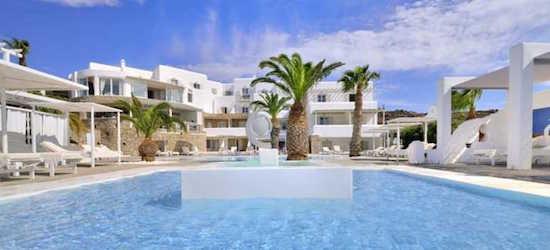 7 nights at the 5* Palladium Hotel, Mykonos