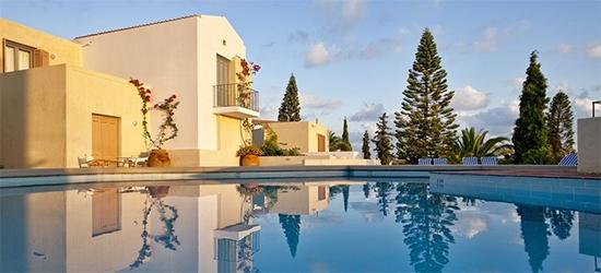 7 nights at the 4* Galaxy Villas, Crete