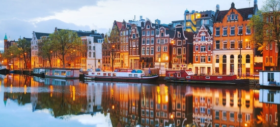 Win return flights to the Netherlands + trips
