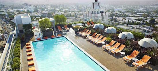 7 night 4* Hollywood hideaway, Los Angeles