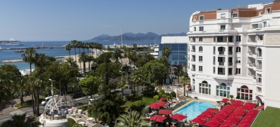 £84pp Based on 2 people per night | Hotel Barrière Le Majestic Cannes, Cannes, French Riviera