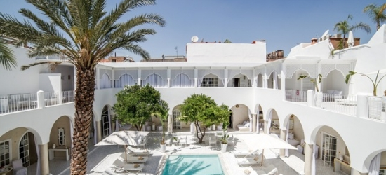 £49pp Based on 2 people per night | Riad Palais Blanc, Marrakech, Morocco