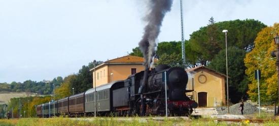 Tuscany adventure with a Crete Senesi steam train excursion & city tours, Hotel Villa San Michele, Italy