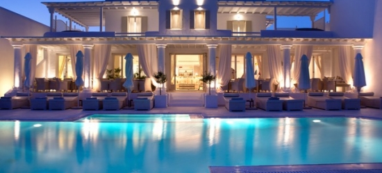 5* ultra-chic Mykonos beach escape with a sea-view suite, La Residence, Greece