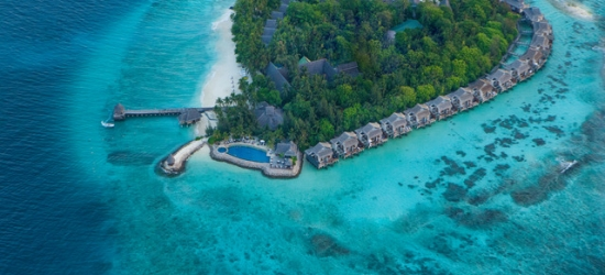 5* Maldives escape with airport lounge access & optional over-water villa, Taj Coral Reef Resort and Spa Maldives, North Malé Atoll