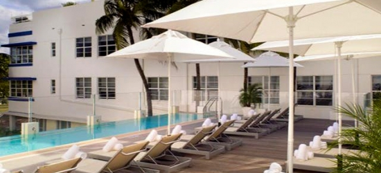 £31pp Based on 2 people per night | Hotel Breakwater South Beach, Miami, Florida