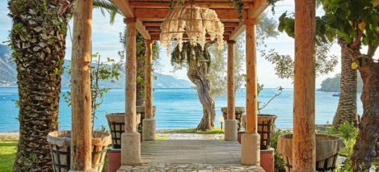 £72pp Based on 2 people per night | Lux Me Grecotel Daphnila Bay Dassia, Corfu, Greece