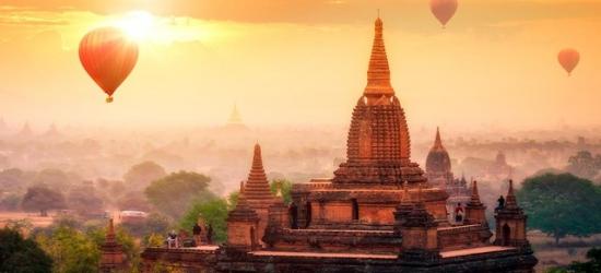 Epic Myanmar 'Land of Pagodas' tour with Thai beach & city stays, Bangkok, Yangon, Bagan, Mandalay, Inle Lake & Krabi