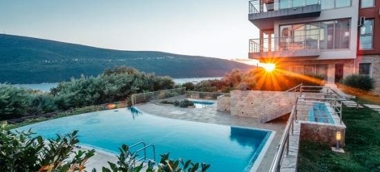 Montenegro apartment holiday with optional car hire, Acacia Hills, Kotor Bay