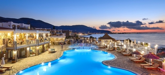 Heavenly half-board beachfront Crete holiday, Alexander Beach Hotel & Village, Greece