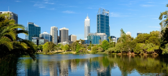 Return flights to Perth from the UK
