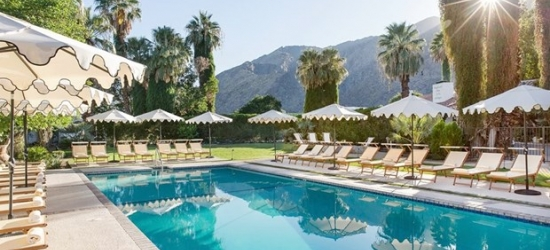 £92 -- Palm Springs Retro-Chic Boutique Hotel, 60% Off