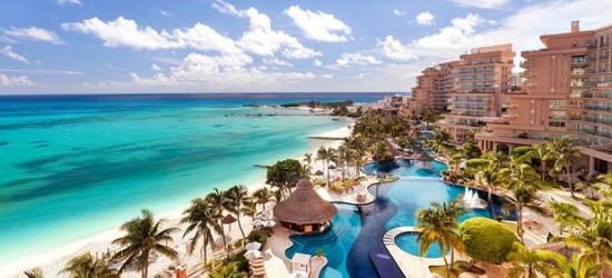 £274 -- Cancun 5-Star All-Suite All-Inclusive Stay for 2, Save 45%