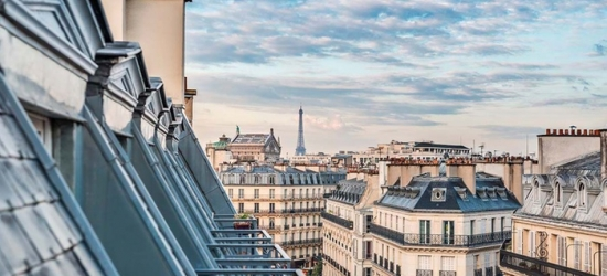 Paris: Standard or Superior Double Room or Suite for Two with Breakfast and Welcome Drink at Hotel Azur