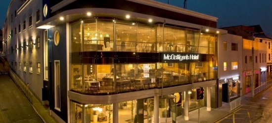 Co. Donegal: 2 Nights for Two with Wine and Late Check-Out at McGettigans Hotel