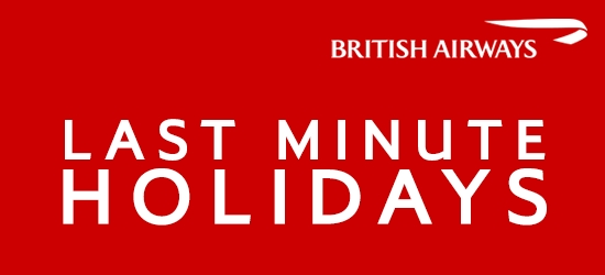 British Airways: Last Minute Holidays