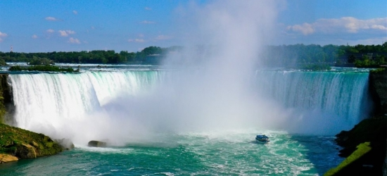 Win a holiday to Canada & Niagara Falls