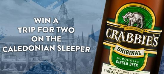 Win a Scottish Caledonian Sleeper trip & Edinburgh stay