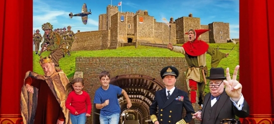 Win a seven night stay at Dover Castle in Kent for up to six people