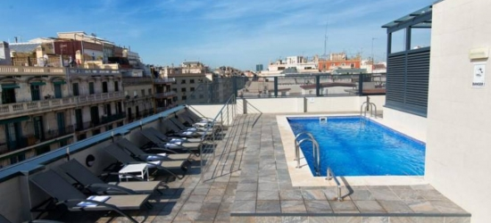 5 nights in Jan at the 4* Sunotel Club Central, Barcelona