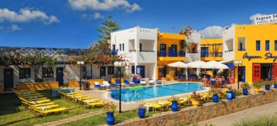 7 nights in Sep at the 4* Aegean Sky, Crete, Greece