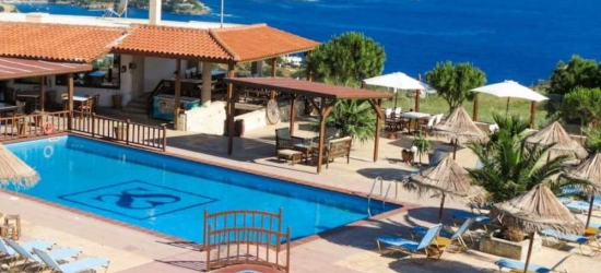 7 nights in Oct at the 4* Spiros Soula Family Apartments, Crete East, Greece
