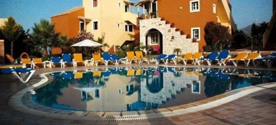 7 nights in Sep at the 4* Dia Apartments Hersonissos, Crete, Greece