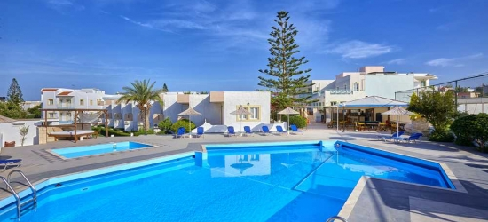 7 nights in May at the 4* Klio Apart Hotel, Crete East, Greece