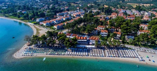 7 nights in Sep at the 4* Flegra Beach Boutique Apartments, Halkidiki, Greece