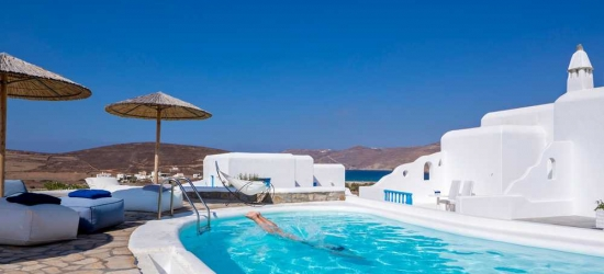 7 nights in May at the 4* Terra Maltese Natural Retreat, Mykonos, Greece