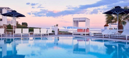 7 nights in May at the 5* Archipelagos Hotel, Mykonos, Greece