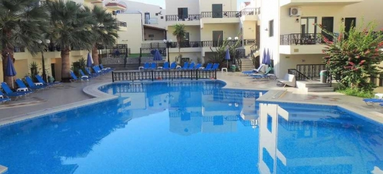 7 nights in Apr at the 4* Diogenis Blue Palace, Crete, Greece
