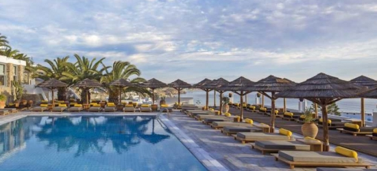 7 nights in Sep at the 5* Myconian Ambassador Hotel, Mykonos, Greece