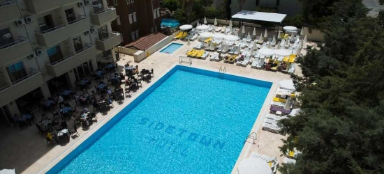7 nights in May at the 4* Side Town Hotel By Z Hotels, Antalya, Turkey