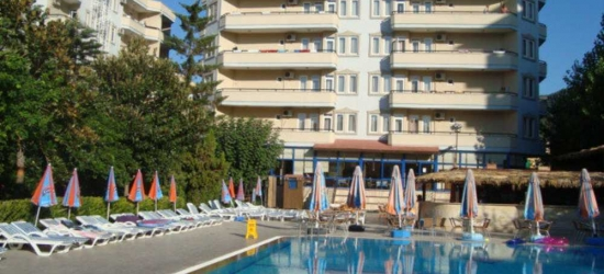 7 nights in Sep at the 4* Elysee Garden Family Hotel, Antalya, Turkey