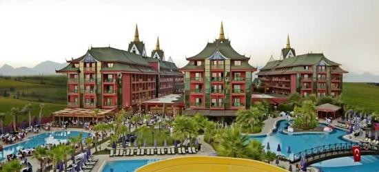 7 nights in Nov at the 5* Siam Elegance Hotels & Spa, Antalya, Turkey