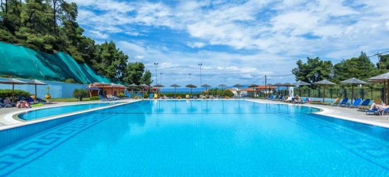 7 nights in Apr at the 4* Atrium Hotel, Halkidiki, Greece
