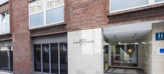 5 nights in Nov at the 3* Hotel Exe Mitre, Barcelona
