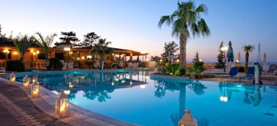 7 nights in May at the 4* Asterias Village, Crete East, Greece