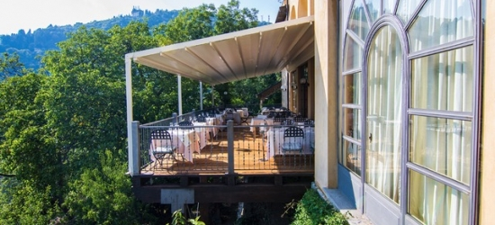 Lake Maggiore foodie break with spectacular views & car hire, Albergo Colonne, Italy