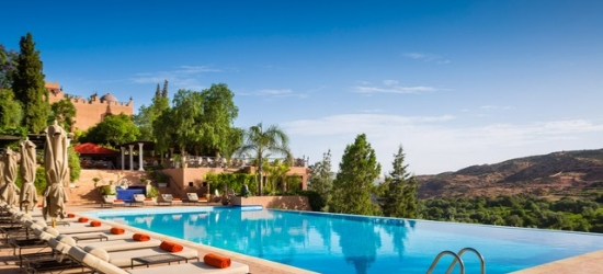 £483pp Based on 2 people per night | Sir Richard Branson's Kasbah Tamadot, Atlas Mountains, Morocco