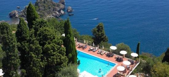 £172pp Based on 2 people per night | Grand Hotel San Pietro, Sicily, Italy