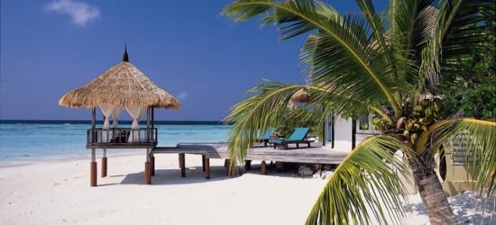 £360pp Based on 2 people per villa per night | Banyan Tree Vabbinfaru, North Malé Atoll, Maldives