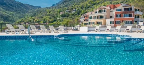 Montenegro apartment holiday with breathtaking bay views & car hire, Lavender Bay Resort, Kotor Bay