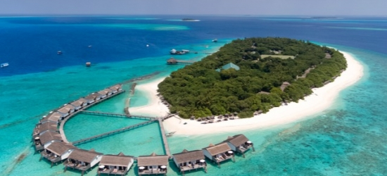 Full-board Maldives island escape with over-water villa, Reethi Beach Resort, Indian Ocean