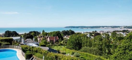 Elegant Jersey break with sea views, car hire & vineyard tour, Hotel Cristina, Channel Islands
