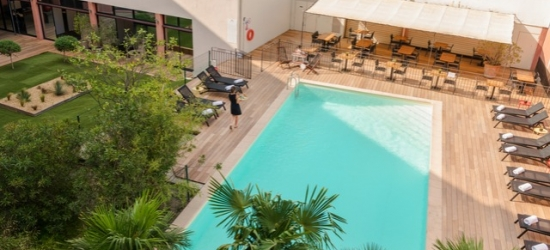 Based on 2 people per night | Provencal hotel with outdoor pool, Best Western Le Galice, France