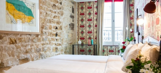 Based on 2 people per night | Charming Paris pad set in an 18th-century townhouse, Hotel Prince de Condé, Paris, France