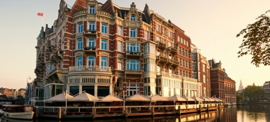 $ Based on 2 people per night | 5* polished Amsterdam canalside stay, De L'Europe Amsterdam, Amsterdam, Netherlands