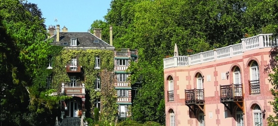 $ Based on 2 people per night | Romantic Normandy stay in a rural period mansion, Belle Isle sur Risle, France